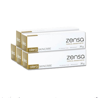 5 x Zensa Pre-procedure Cream 30g MULTISAVE