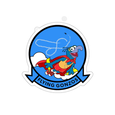 Flying Gonzo Squadron Sticker