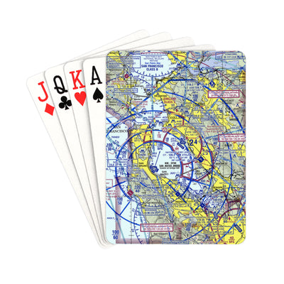 "Make Your Own Airspace Playing Cards Playing Cards 2.5""x3.5"" - RadarContact"