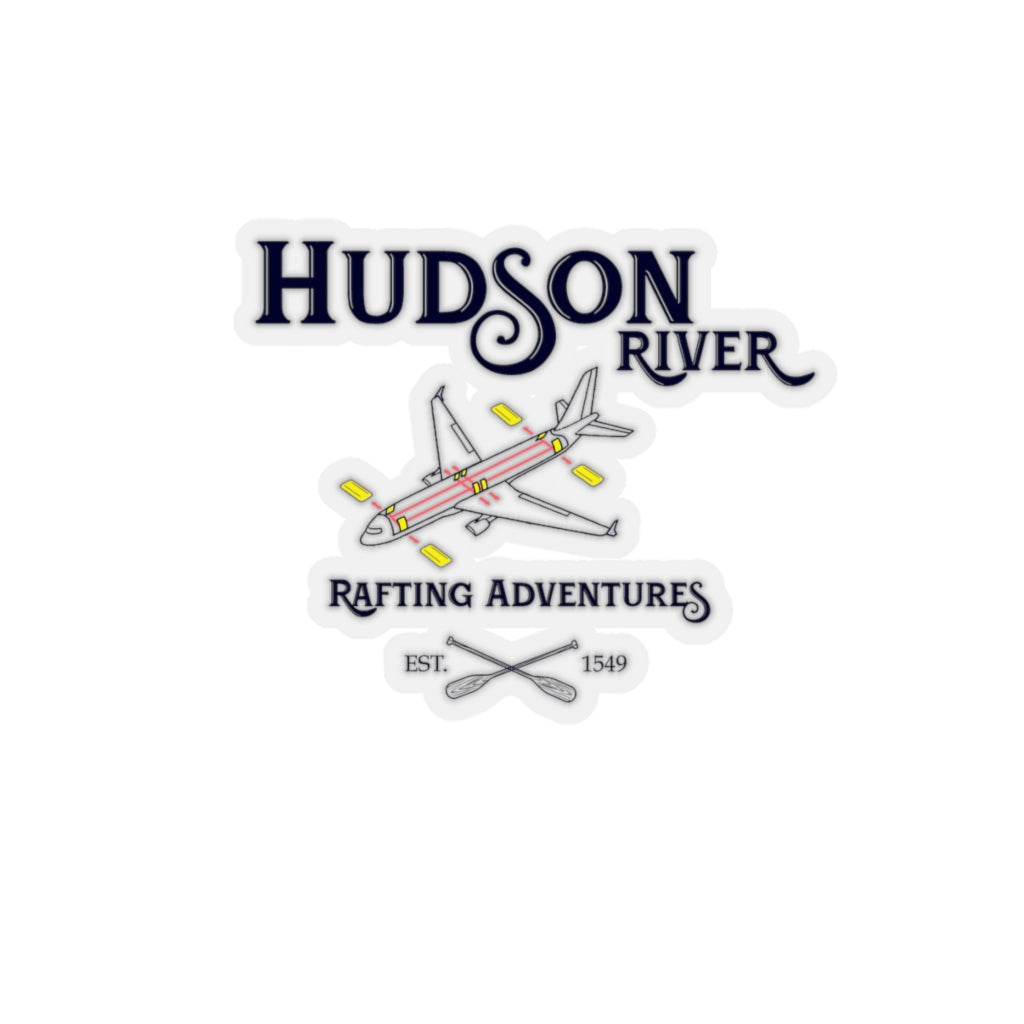 Hudson River Rafting Sticker - RadarContact