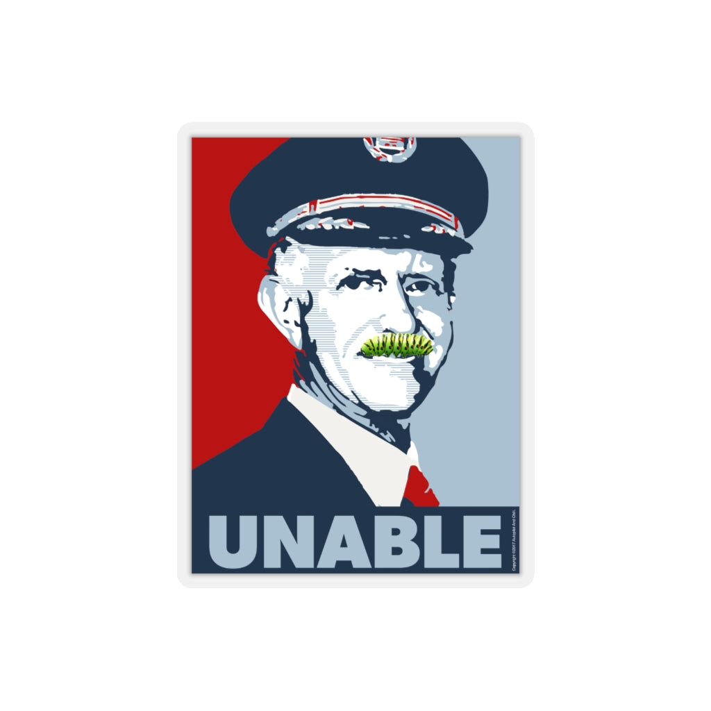 Unable Propaganda Sticker - RadarContact