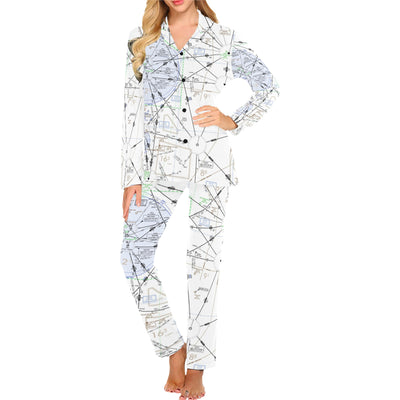 Make Your Own Sectional Women's Long Pajama Set - RadarContact