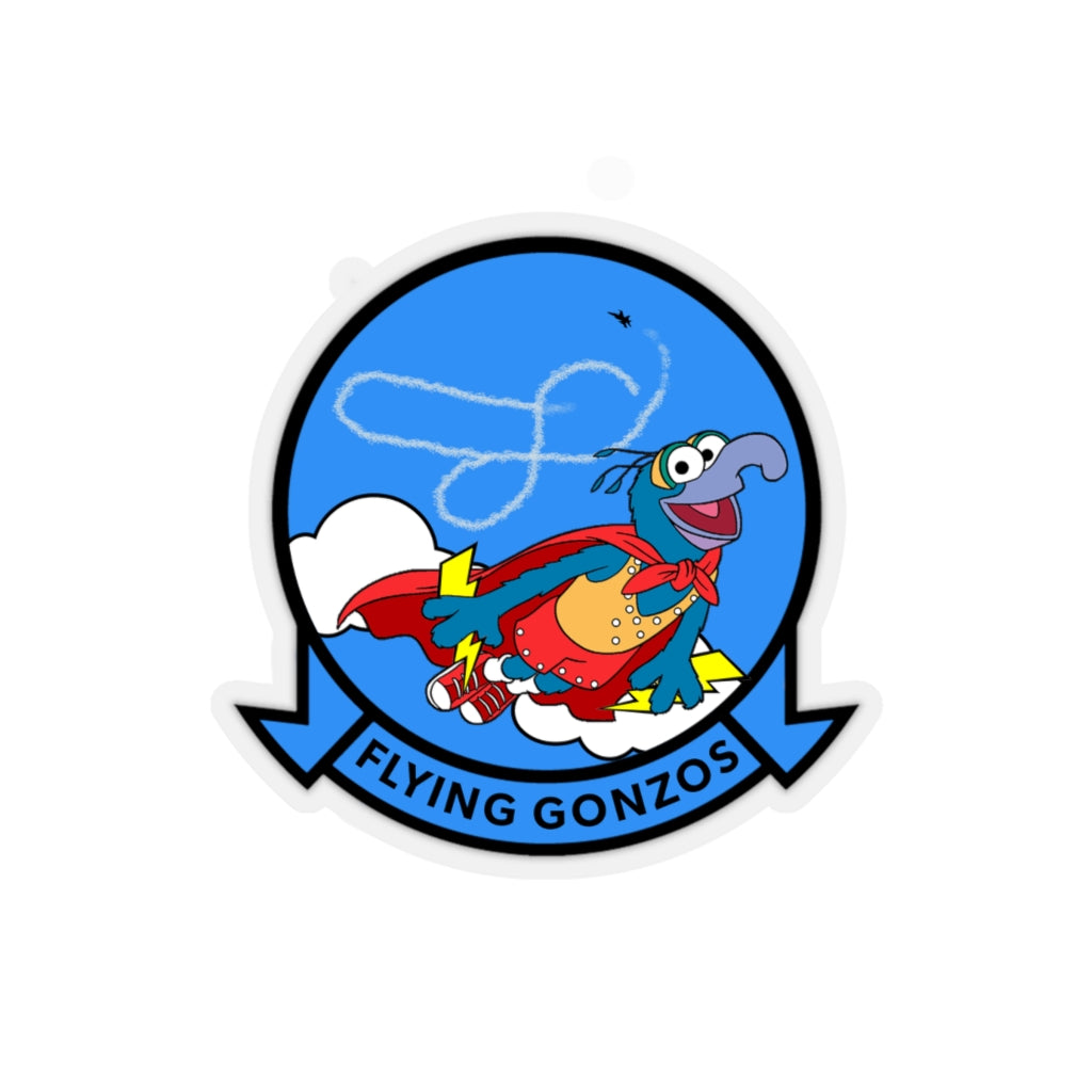 Flying Gonzo Squadron Sticker - RadarContact