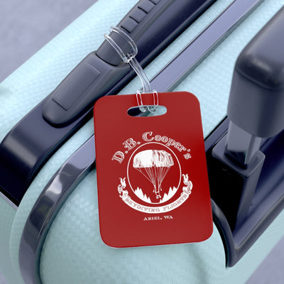 DB Cooper Luggage Tag - RadarContact