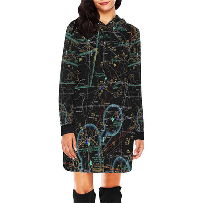 Make Your Own Airspace Hoodie Mini Dress - RadarContact