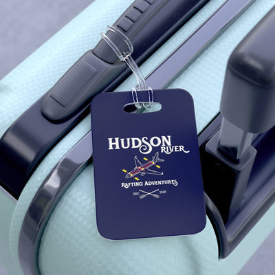 Hudson River Rafting Bag Tag - RadarContact