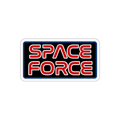 Space Force Worm Sticker - RadarContact