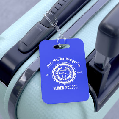 St. Sullenberger's Glider School Luggage Tag