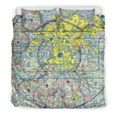 Atlanta Sectional Bedding Set - RadarContact - ATC Memes