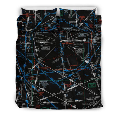 Atlanta Low Altitude Bedding Set (Inverted) - RadarContact