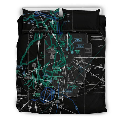 Seattle Low Altitude Bedding Set (Inverted)