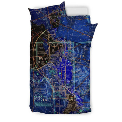 Salt Lake City Sectional Bedding Set (Inverted)
