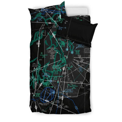 Seattle Low Altitude Bedding Set (Inverted) - RadarContact