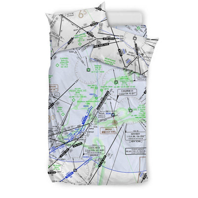 New York Low Altitude Bedding Set