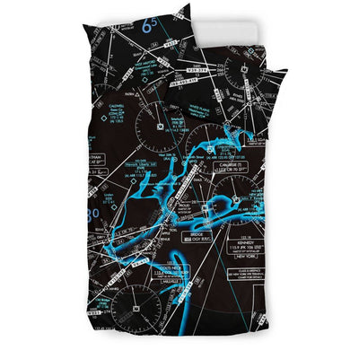 New York Low Altitude Bedding Set (Inverted)