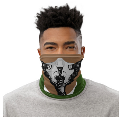 Fighter Pilot Oxygen Face Mask