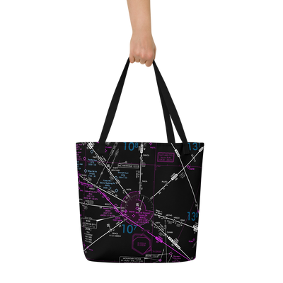 Make Your Own Airspace Beach Tote Bag - RadarContact
