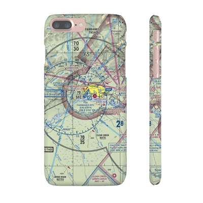 Fairbanks Sectional iPhone Snap Cases - RadarContact