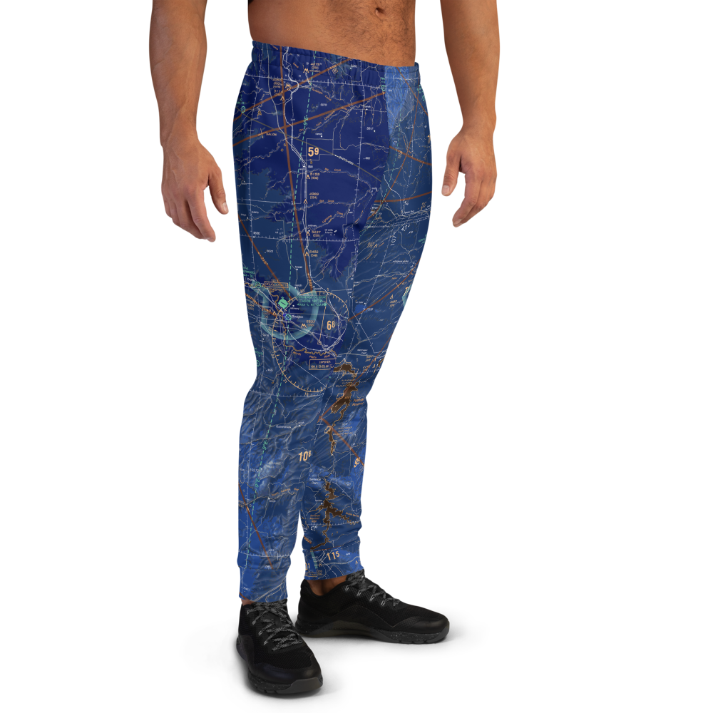 Men's Aviation Airspace Sweatpants Joggers - RadarContact