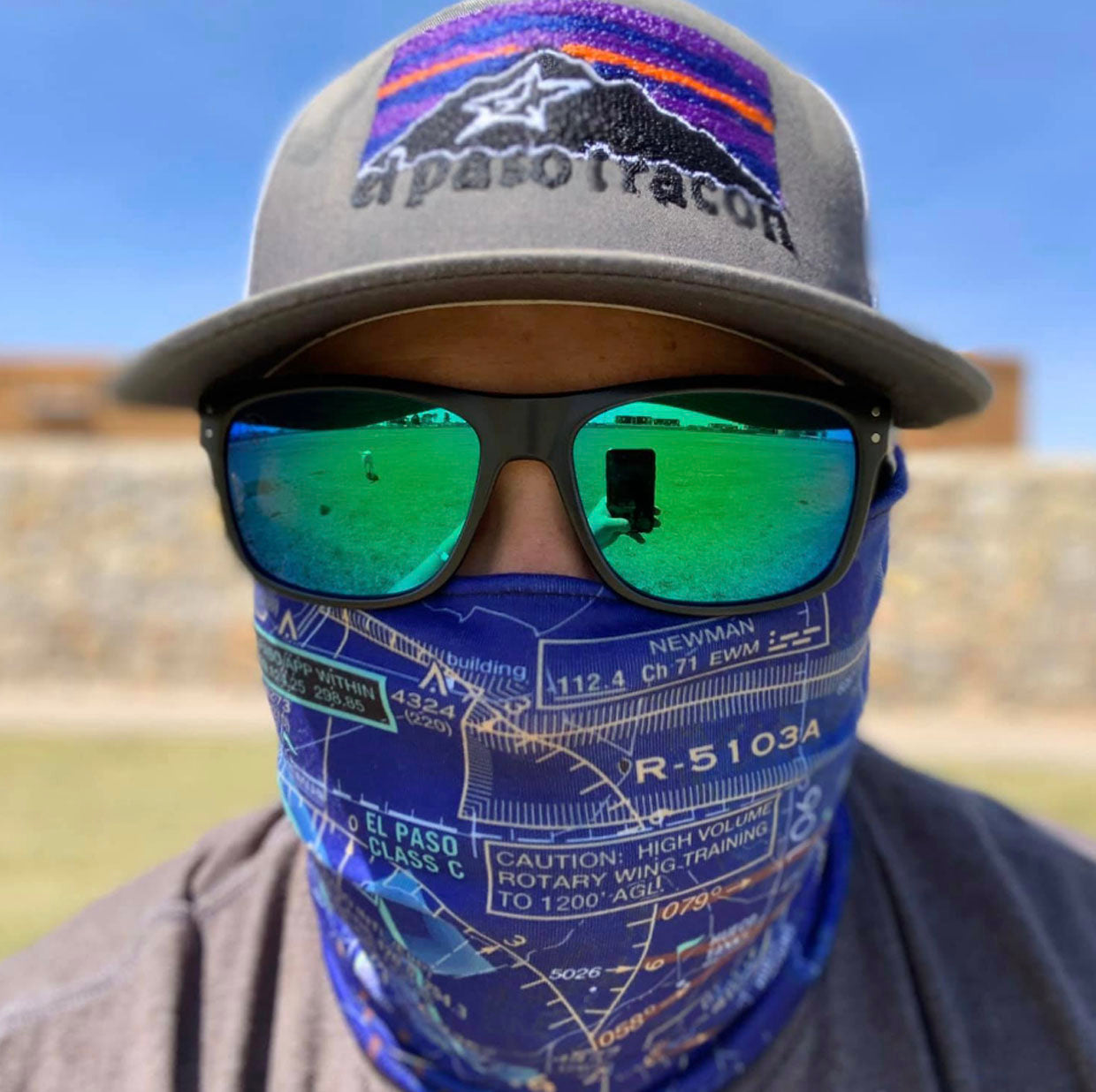Make Your Own Airspace Face Mask Neck Gaiter - RadarContact