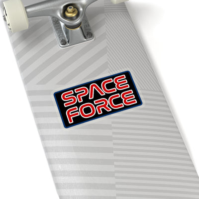 Space Force Worm Sticker