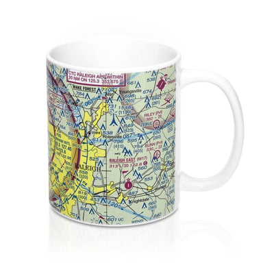 Raleigh-Durham Sectional Mug