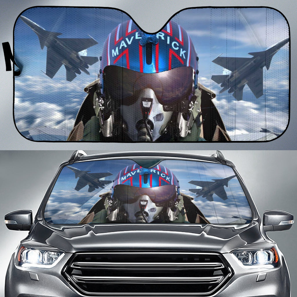 Top Gun Maverick Auto Sun Shade