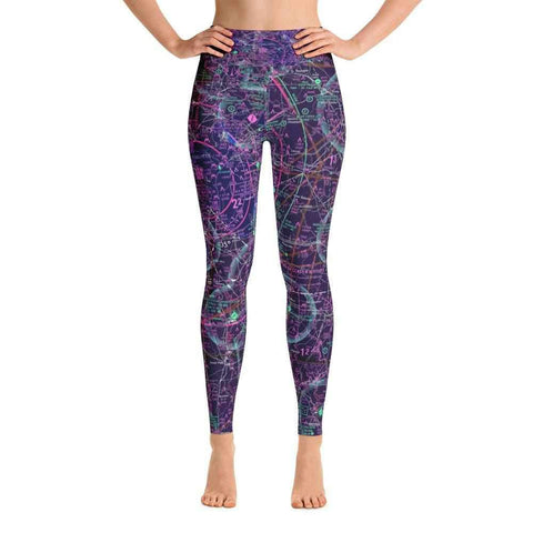Charlotte Sectional Yoga Leggings (Inverted) - RadarContact - ATC Memes