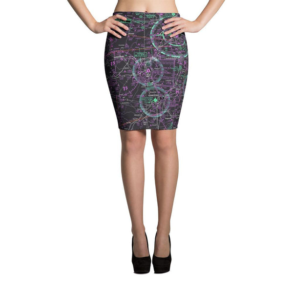 Louisville Sectional Pencil Skirt (Inverted) - RadarContact