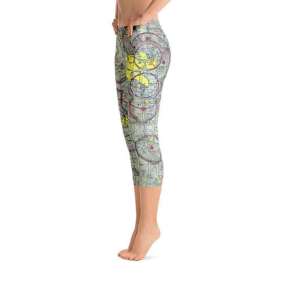 Omaha Sectional Capri Leggings