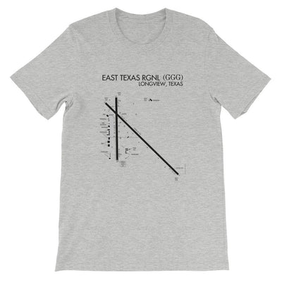 Longview (GGG) Airport T-Shirt - RadarContact