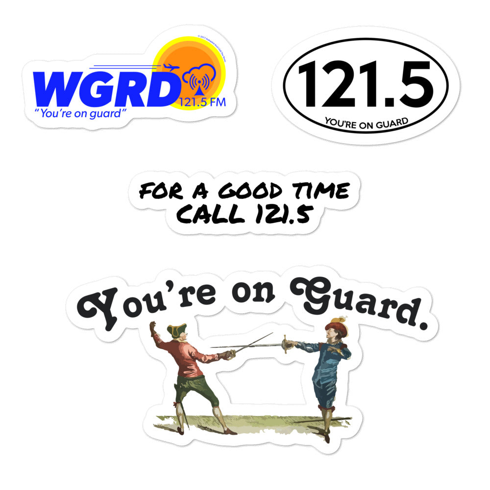 You're on Guard Mini Sticker Pack