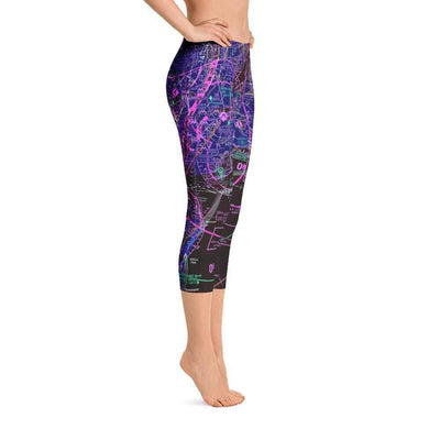 New York Sectional Capri Leggings (Inverted)