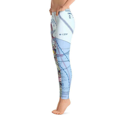 Daytona Beach Sectional Leggings - RadarContact - ATC Memes