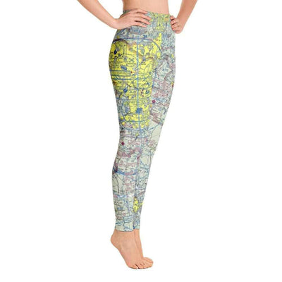 Atlanta Sectional Yoga Leggings - RadarContact - ATC Memes