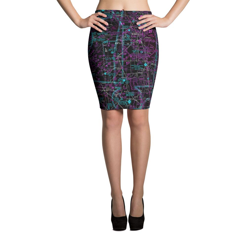 Oshkosh Sectional Pencil Skirt (Inverted)