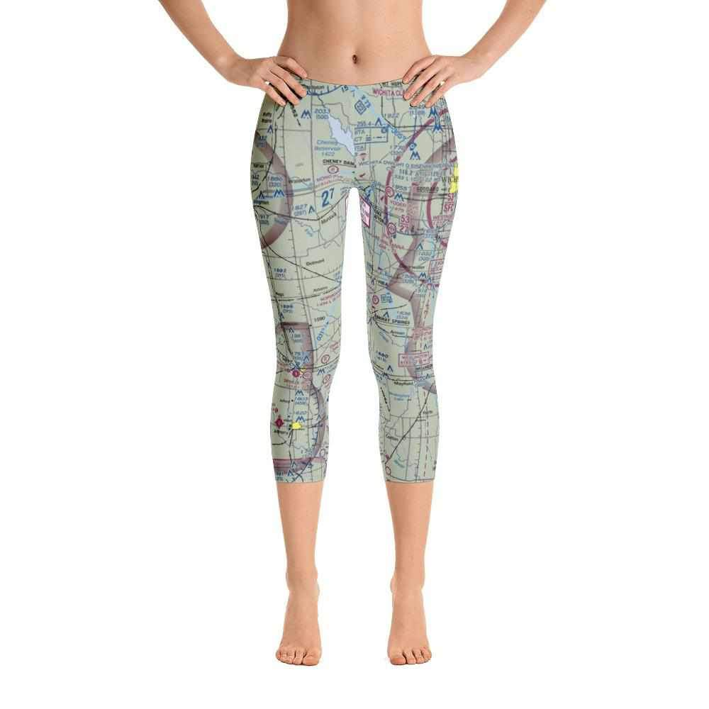 Wichita Sectional Capri Leggings - RadarContact