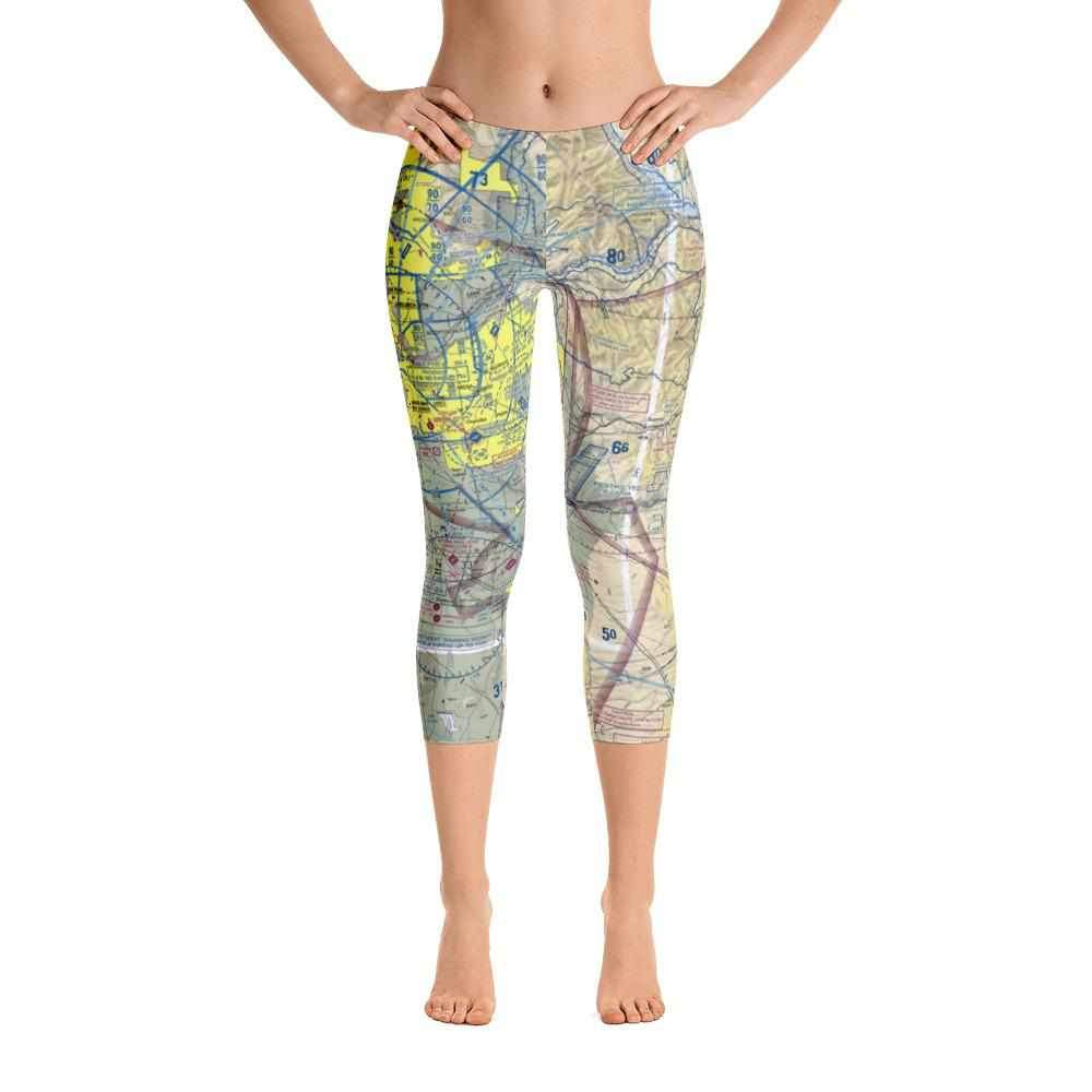 Phoenix Sectional Capri Leggings - RadarContact