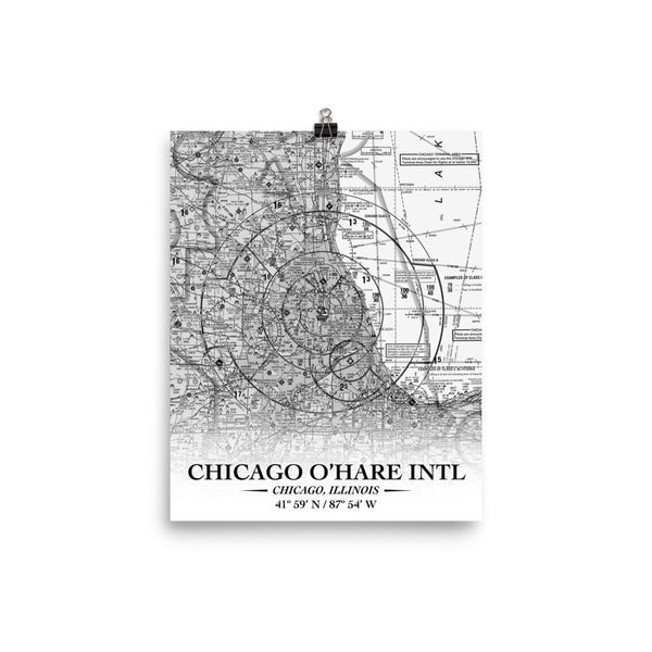 Chicago Sectional Poster - RadarContact - ATC Memes