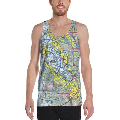 San Francisco Sectional Tank Top - RadarContact