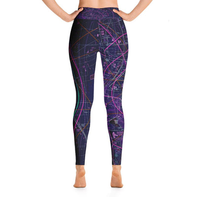 Denver Sectional Yoga Leggings (Inverted) - RadarContact - ATC Memes