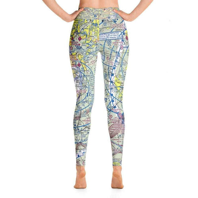 Washington DC Sectional Yoga Leggings - RadarContact
