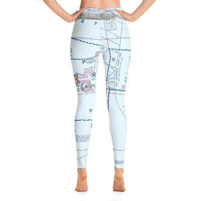 Puerto Rico Sectional Yoga Leggings