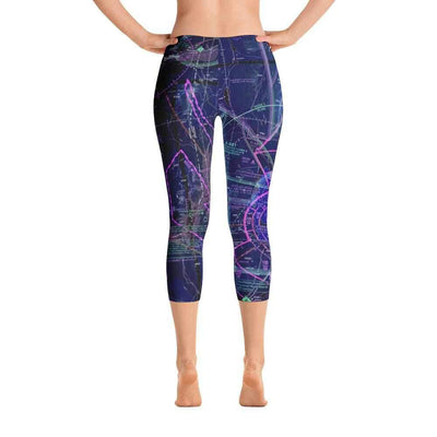 Las Vegas Sectional Capri Leggings (Inverted) - RadarContact - ATC Memes