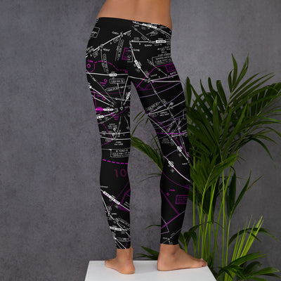 Los Angeles Low Altitude Leggings (Inverted)