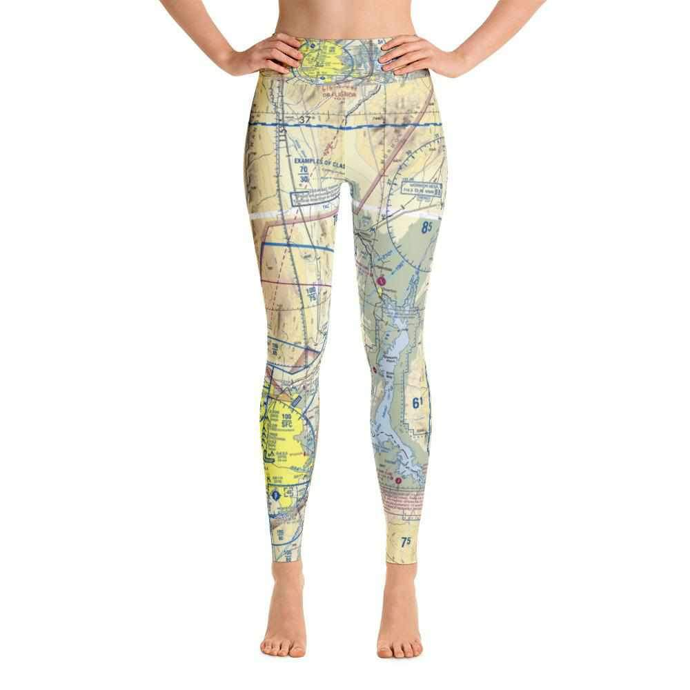 Las Vegas Sectional Yoga Leggings - RadarContact