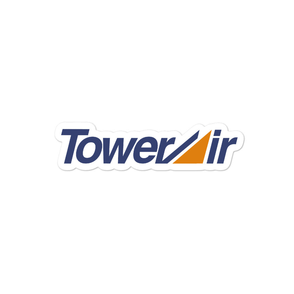 Retro Tower Air Sticker