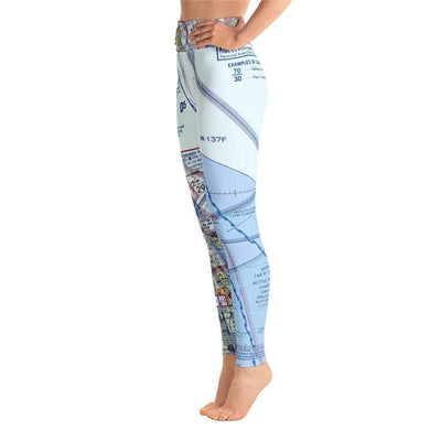 Daytona Beach Sectional Yoga Leggings - RadarContact - ATC Memes