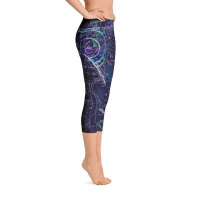 El Paso Sectional Capri Leggings (Inverted) - RadarContact - ATC Memes