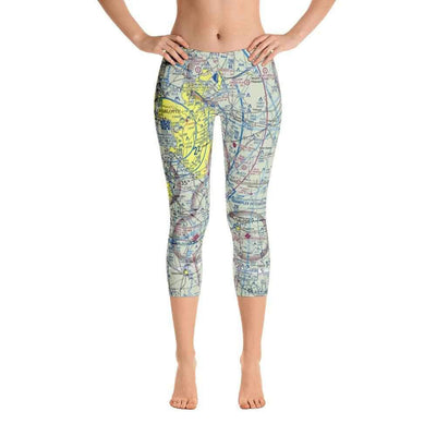 Charlotte Sectional Capri Leggings - RadarContact - ATC Memes